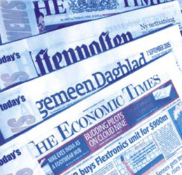 Overnight Kurier, Newspaper-print-on-demand, Zeitung-on-Demand, Hauslieferung Zeitung